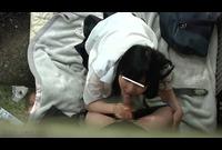 FJF-2121 バーチャル覗き!制服女子の野外SEX